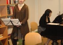 Tui Hirv (sopran) ja Faristamo Leis (klaver)
