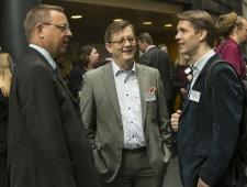 Vasakult: Raul Eamets, Christer Haglund, Tiit Tammaru