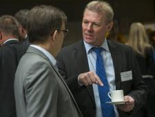 Christer Haglund ja Søren Kelstrup, Taani suursaadik Eestis