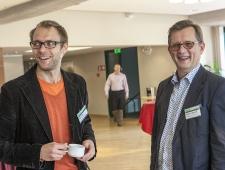 Madis Tilga, Roheviku projektijuht Põhjamaade Ministrite Nõukogu Eesti esinduses (vasakul) ja Christer Haglund, Põhjamaade Ministrite Nõukogu Eesti esinduse direktor