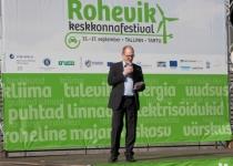 Roheviku perepäeva avas Berth Sundström, Põhjamaade Ministrite Nõukogu esinduse direktor
