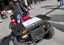 Elektri jõul liikuv ATV