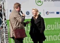 Muusik ja ajakirjanik Piret Järvis katsetas elektriautot