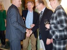 Põhjamaade Ministrite Nõukogu Balti riikide esinduste direktorid (vasakult): Bo Harald Tillberg (Leedu), Jan Widberg (Läti) ja Berth Sundström (Eesti)