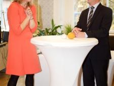 Marjo Näkki, Soome Suursaatkonna kultuuri- ja pressinõunik ja Berth Sundström