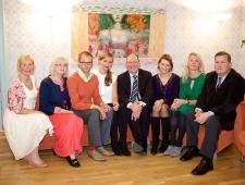 Põhjamaade Ministrite Nõukogu esindus Eestis (vasakult): Merle Kuusk, Eha Vain, Madis Tilga, Triin Oppi, Berth Sundström, Liina Kabel, Grete Kodi, Madis Kanarbik