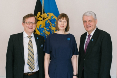 The Nordic Committee for Cooperation visited Tallinn. Heads of the Nordic Council of Ministers met with president Kersti Kaljulaid