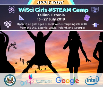 The U.S. Embassy is Hosting Girls' STEAM Camp in Tallinn with Google and Intel Experts