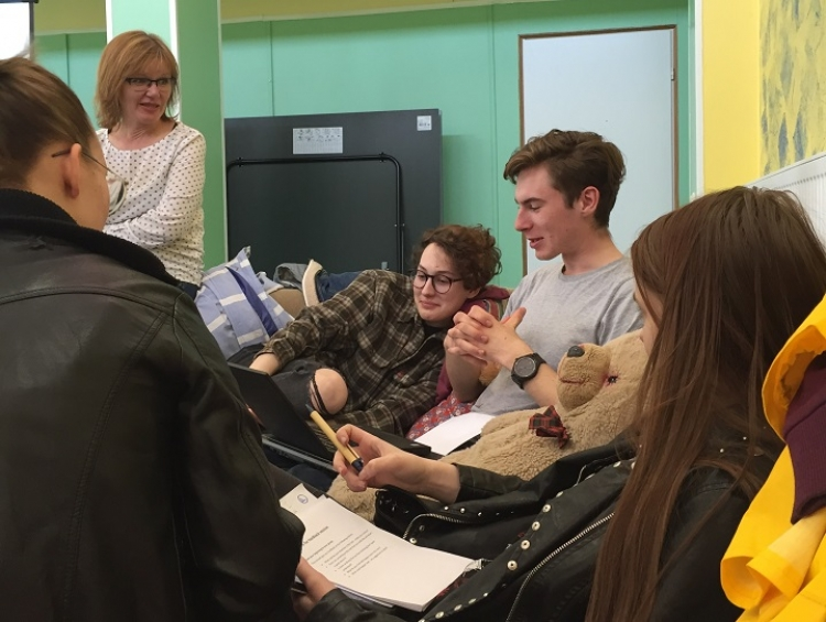 Young people from four countries learned creative writing from local and Nordic experts