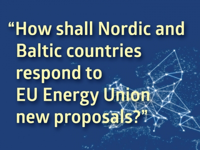 High level Nordic-Baltic Energy conference 2017 takes place in Tallinn, May 3-4. Follow us online!